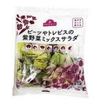 トップバリュ ビーツやトレビスの紫野菜ミックスサラダ 1パック