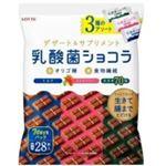 ロッテ 乳酸菌ショコラ3種アソートパック 112g