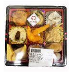 まんえい堂 四色てまりおこわ弁当(栗・山菜・かしわ・梅じそ)1パック