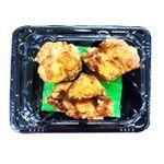 【8/12~8/15配送限定】【11時~18時配送】鶏もも醤油唐揚げ(小)3~4個入り 約90g 1パック(100gあたり(本体)168円)