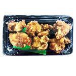 【8/12~8/15配送限定】【11時~18時配送】鶏もも醤油唐揚げ(中)5~6個入り 約150g 1パック(100gあたり(本体)168円)