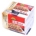 【11位】 トップバリュベストプライス 小粒納豆 45g×3個