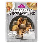 トップバリュ 蒟蒻と根菜のピリ辛煮 95g