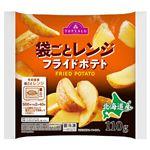 トップバリュ 北海道産フライドポテトそのまま袋ごとレンジ 110g