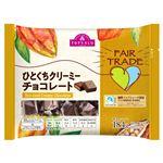 トップバリュ ひとくちクリーミーチョコレート 184g