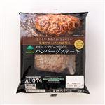 (046) トップバリュグリーンアイナチュラル タスマニアビーフ100% ハンバーグステーキ 1個(ハンバーグ120g、ソース20g)