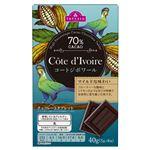 トップバリュ チョコレートタブレット コートジボワール産カカオ70% 40g(5g×8枚)
