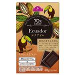 トップバリュ チョコレートタブレット(エクアドル産カカオ70%)40(5g×8枚)