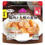 トップバリュ 鶏肉と大根の煮物 170g