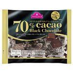 トップバリュ ひとくちカカオ70% ブラックチョコレート 135g