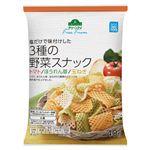 トップバリュグリーンアイ フリーフロム 3種の野菜スナック 40g