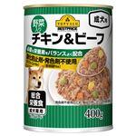 トップバリュ トップバリュベストプライス 野菜入りチキン&ビーフ(成犬用)400g