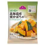 トップバリュ 減の恵み 北海道産栗かぼちゃ 400g
