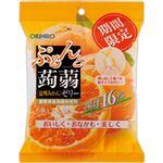 オリヒロ ぷるんと蒟蒻ゼリーパウチ 温州みかん 6個入