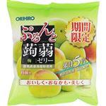 オリヒロ ぷるんと蒟蒻ゼリーパウチ 梅 6個入
