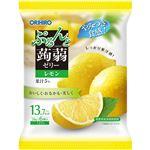 オリヒロ ぷるんと蒟蒻ゼリーパウチ レモン 6個入