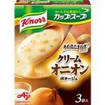 クノール カップスープ クリームオニオンポタージュ  3袋入