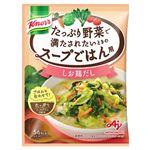 味の素 クノール たっぷり野菜で満たされたいときのスープごはん用 しお鶏だし スープボウル1杯分 17.3g