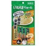 いなばペットフード Wanちゅ~る 総合栄養食 とりささみ チーズ入り 14g×4本