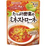 カゴメ たっぷり野菜のミネストローネ用ソース 240g(2~3人前)