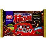 亀田の柿の種 チョコ&アーモンド 77g