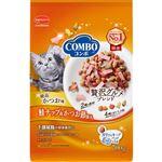 日本ペットフード コンボ キャット ドライ かつお味・鮭チップ・かつお節添え 700g(140g×5袋)