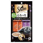 マースジャパン シーバ とろ~りメルティ 11歳以上 まぐろ味セレクション 12g×4本