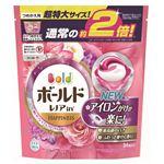 P&G ボールド ジェルボール3D 癒しのプレミアムブロッサムの香り つめかえ用 超特大サイズ 34個