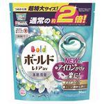 P&G ボールド ジェルボール3D 爽やかプレミアムクリーンの香り つめかえ用 超特大サイズ 34個