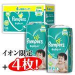 【8月30日~9月1日の配送となります】【ケース予約販売】P&G パンパース クラブパック M 132枚(64枚×2+イオン限定プラス4枚)【テープ】