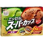 明治 エッセルスーパーカップ ミニ 抹茶&チョコクッキー マルチ 90ml×6個入 90ml×6