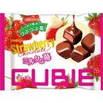 明治 ストロベリーチョコレートCUBIE 28g