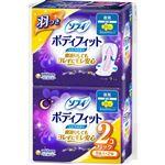 ユニ・チャーム ソフィ ボディフィット スーパーナイトガード 羽つき 9枚入×2個