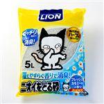 ライオン商事 ニオイをとる砂 フレッシュカモミールの香り 5L