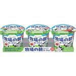 雪印メグミルク 牧場の朝ヨーグルト 生乳仕立て 70g×3個組