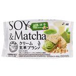 アサヒ クリーム玄米ブラン 豆乳抹茶 72g(2枚×2袋)
