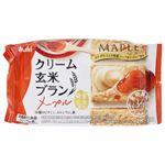 アサヒ クリーム玄米ブラン メープル 2枚×2袋