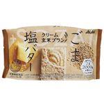 アサヒ クリーム玄米ブラン ごま&塩バター 2枚×2袋