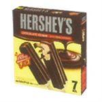 ロッテ HERSHEY'S チョコレートアイスバー 53ml×7本入