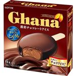ロッテ ガーナ濃密チョコレートアイス チョコ 55ml×6本入