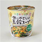 ヒガシマル 体にやさしい五穀スープ あっさり和風塩味 13g